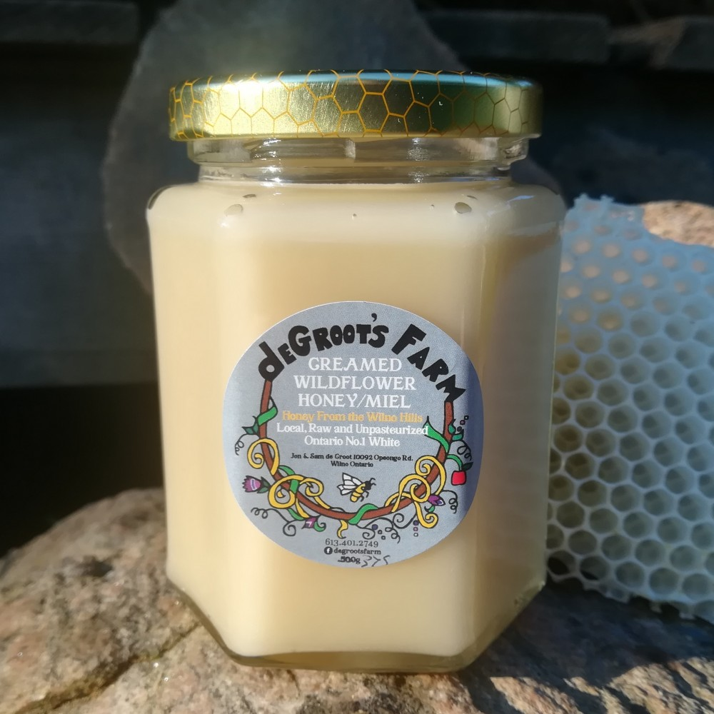 Creamed Old Fashioned Wildflower Honey